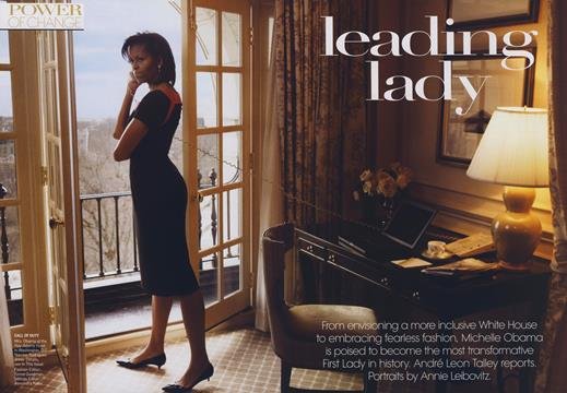 Power of Change: Leading Lady - March | Vogue