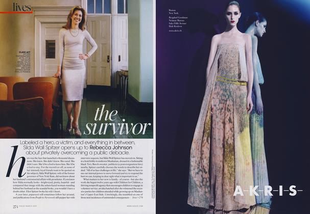 Article Preview: The Survivor, March 2009 | Vogue