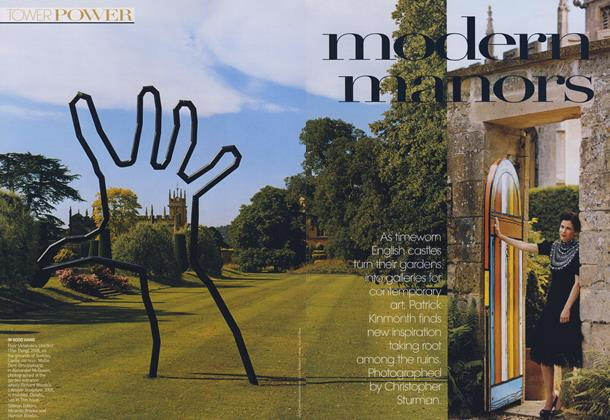 Article Preview: Tower Power: Modern Manors, March 2009 | Vogue