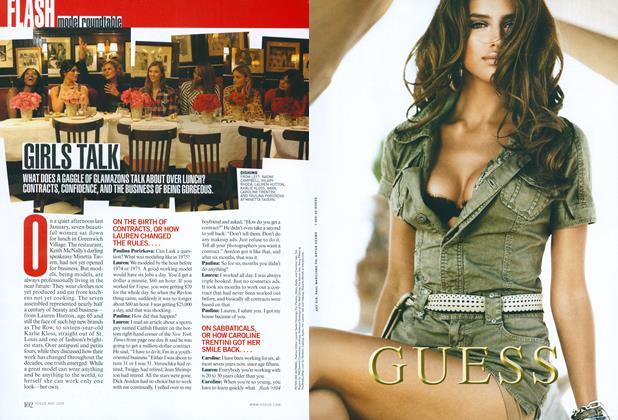 Model Roundtable: Girls Talk