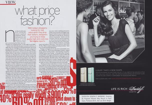 Price Check: What Price Fashion?