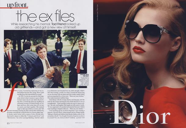 Article Preview: My Old Flames: The Ex Files, October 2009 | Vogue