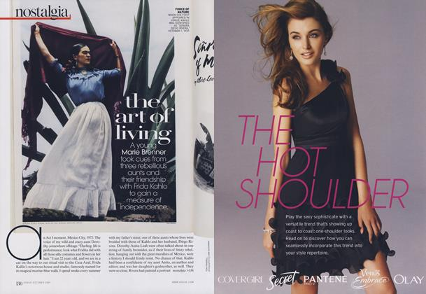 Article Preview: Family Values: The Art of Living, October 2009 | Vogue
