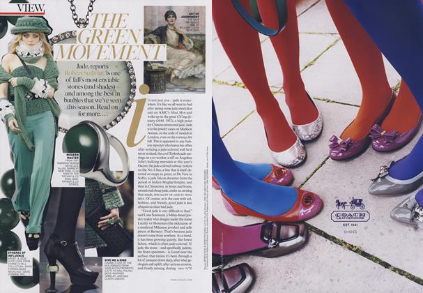 Article Preview: Jewelry Report: The Green Movement, October 2009 | Vogue