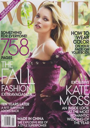Cover for the September 2011 issue