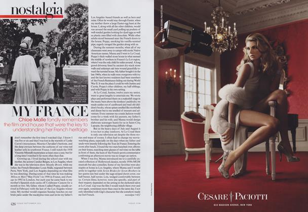 Article Preview: French Lessons: My France, September 2011 | Vogue