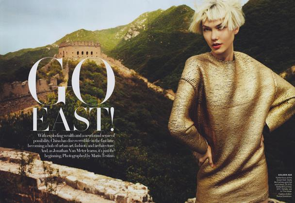 Article Preview: Go East!, September 2011 | Vogue