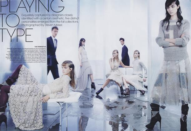Article Preview: Playing to Type, September 2011 | Vogue