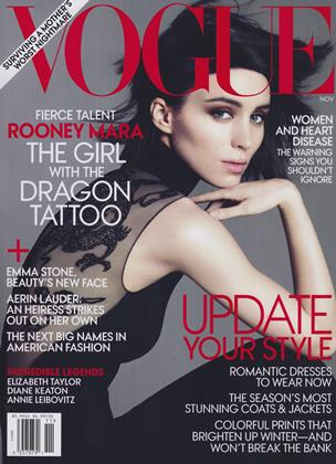 Cover for the November 2011 issue