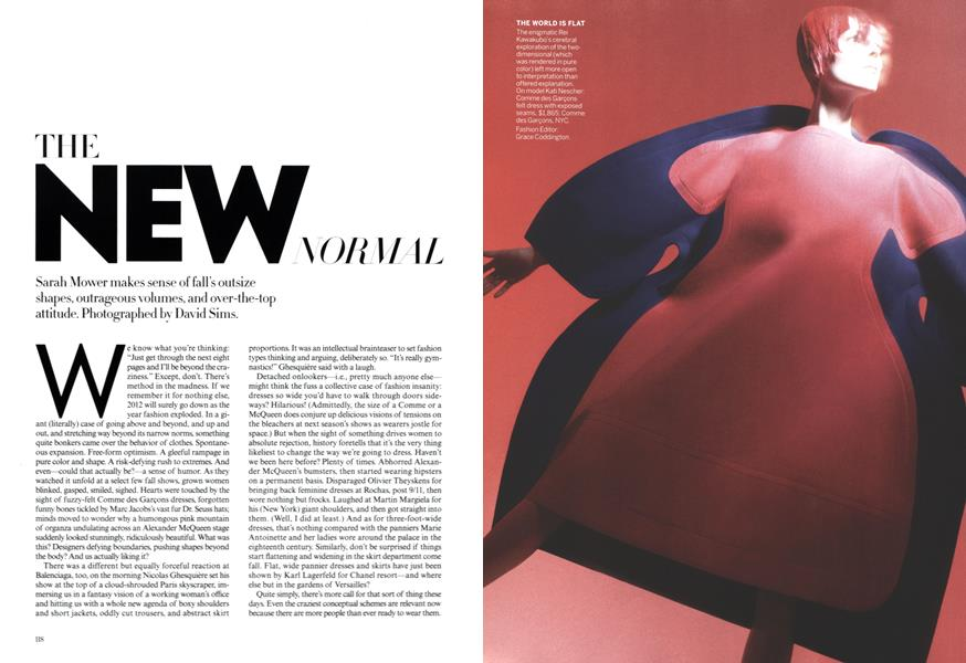 The New Normal Vogue July 2012