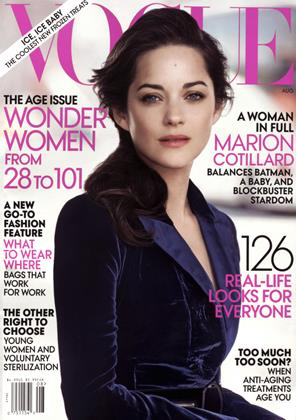 Cover for the August 2012 issue