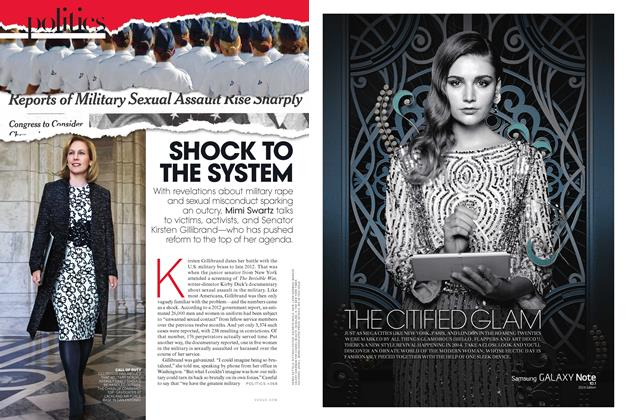 Article Preview: Shock to the System, March 2014 | Vogue