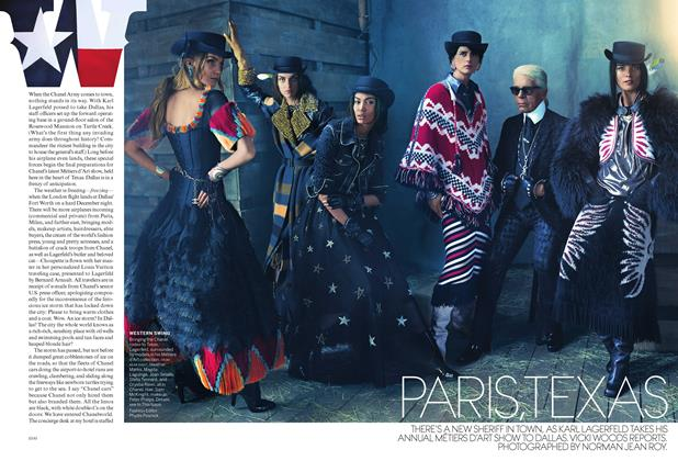 Article Preview: Paris, Texas, March 2014 | Vogue