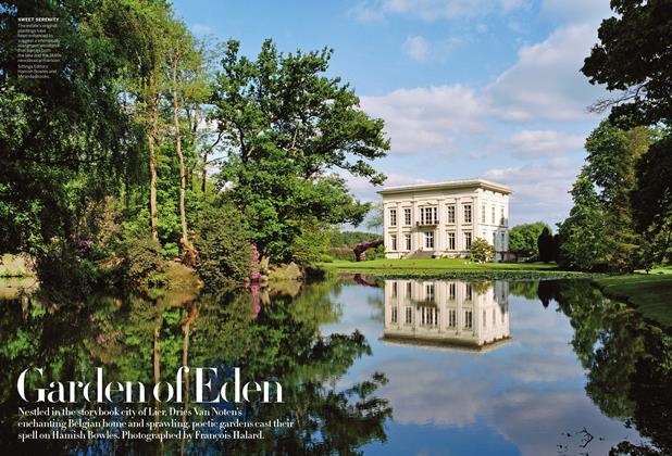 Article Preview: Garden of Eden, March 2014 | Vogue