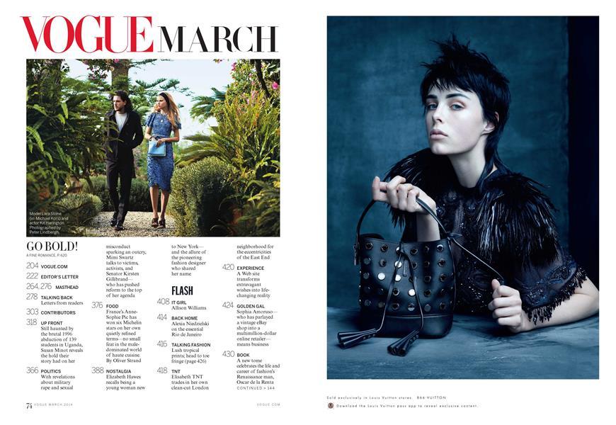 Vogue: March