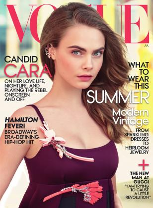 Cover for the July 2015 issue