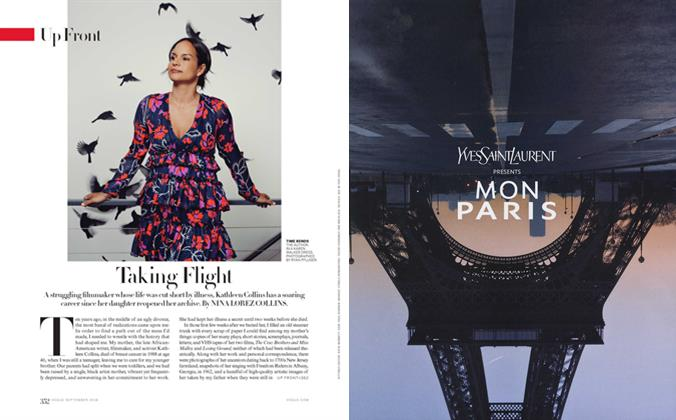 Article Preview: Taking Flight, September 2016 | Vogue