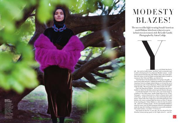 Article Preview: Modesty Blazes!, July 2017 | Vogue