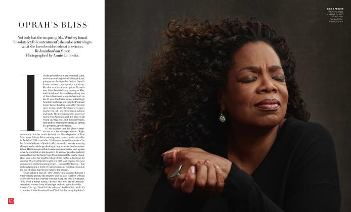 Oprah's Bliss