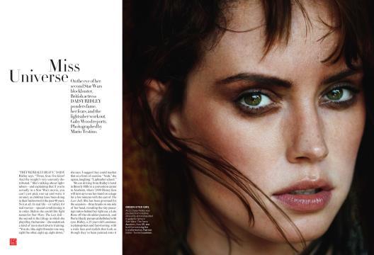 Miss Universe - November | Vogue