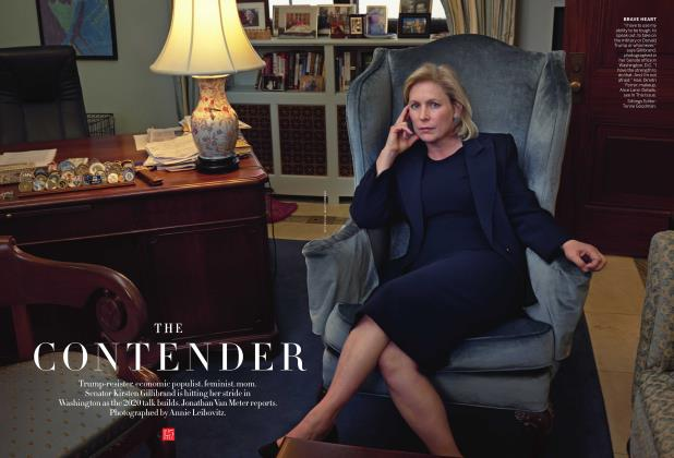 Article Preview: The Contender, November 2017 | Vogue