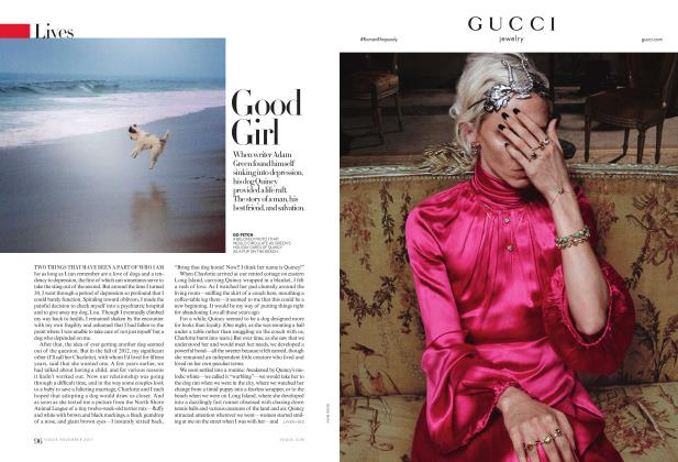 Article Preview: Rescue Dogs: Good Girl, November 2017 | Vogue