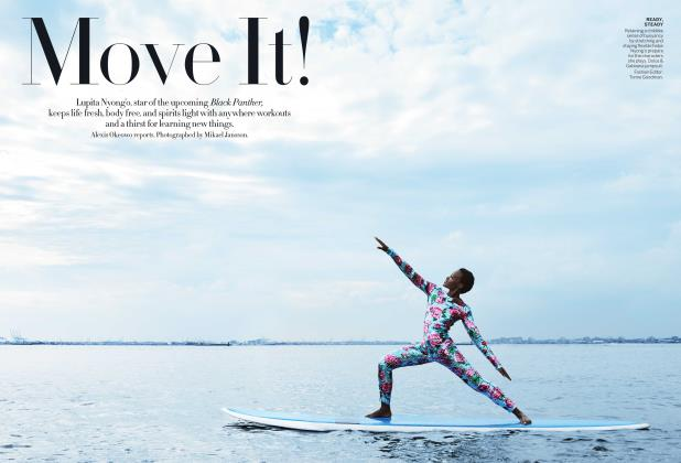 Article Preview: Move It!, January 2018 | Vogue