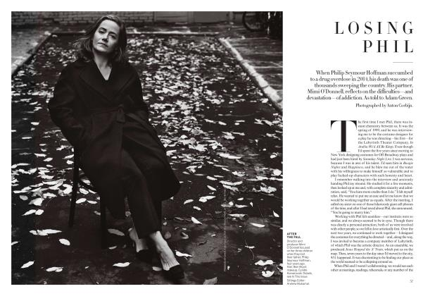 Article Preview: Losing Phil, January 2018 | Vogue