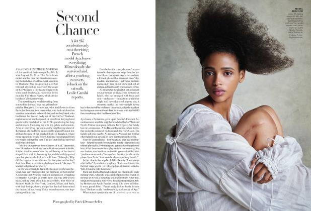 Article Preview: Second Chance, January 2018 | Vogue