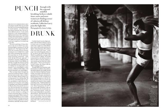 Article Preview: Punch Drunk, January 2018 | Vogue