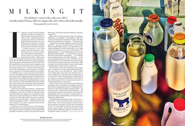 Article Preview: Milking It, January 2018 | Vogue