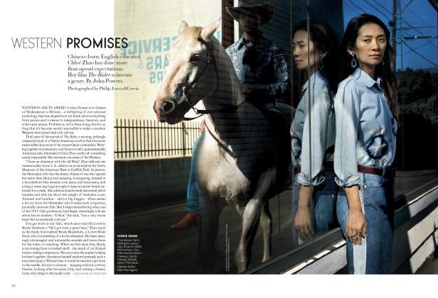 Article Preview: Western Promises, April 2018 | Vogue