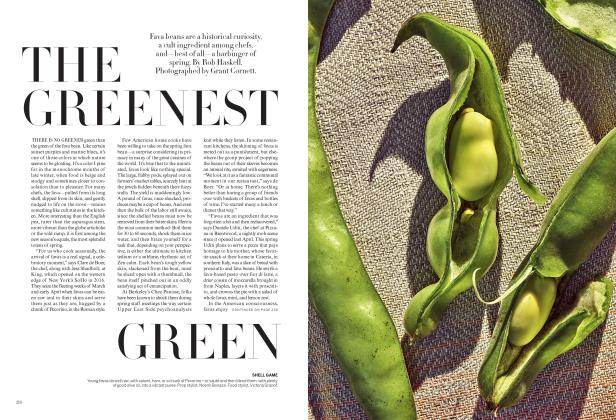 Article Preview: The Greenest Green, April 2018 | Vogue