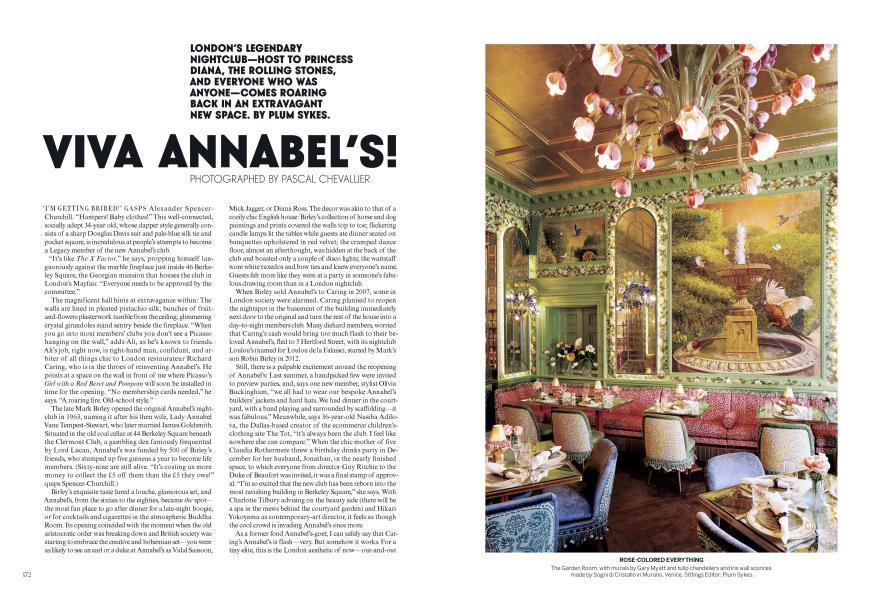 Viva Annabel's!