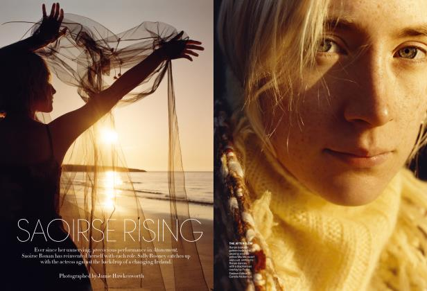 Article Preview: Saoirse Rising, August 2018 | Vogue