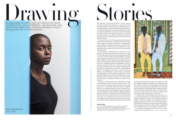 Article Preview: Drawing Stories, August 2018 | Vogue