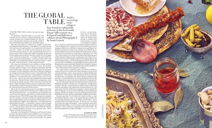 Article Preview: The Global Table, September 2018 | Vogue