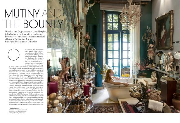 Article Preview: Mutiny and the Bounty, October 2018 | Vogue