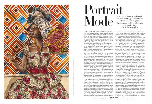 Article Preview: Portrait Mode, October 2018 | Vogue