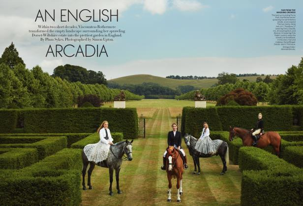 Article Preview: An English Arcadia, December 2018 | Vogue