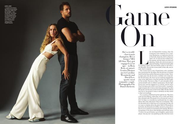 Article Preview: Love Stories: Game On, JANUARY 2019 | Vogue