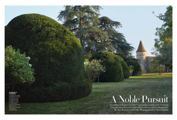 Article Preview: A Noble Pursuit, JANUARY 2019 | Vogue