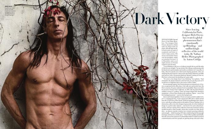 Article Preview: Dark Victory, MARCH 2019 | Vogue