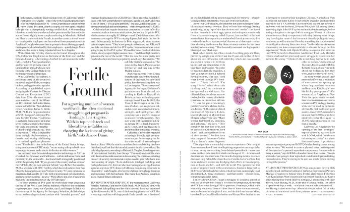Article Preview: Fertile Ground, MARCH 2019 | Vogue