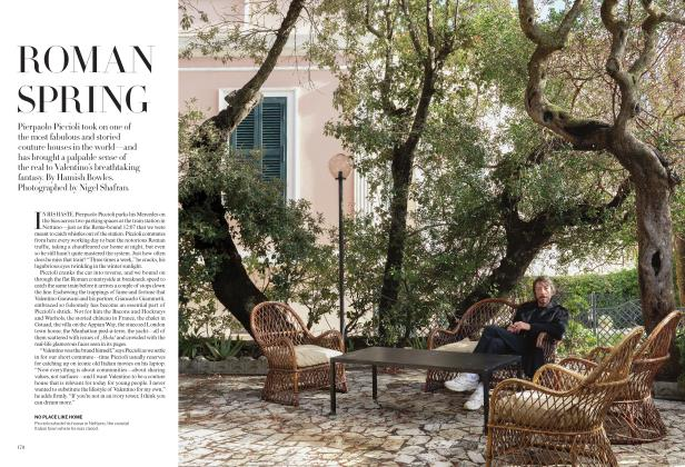 Article Preview: ROMAN SPRING, April 2019 | Vogue