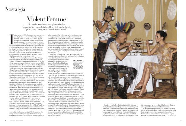 Article Preview: Violent Femme, July 2019 | Vogue