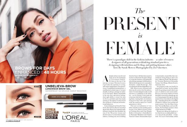 Article Preview: The PRESENT is FEMALE, AUGUST 2019 | Vogue