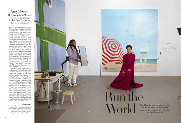Article Preview: Run the World, AUGUST 2019 | Vogue