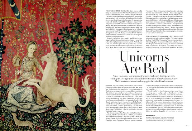 Article Preview: Unicorns Are Real, AUGUST 2019 | Vogue