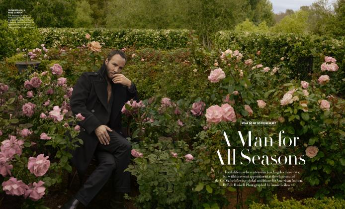 Article Preview: A Man for All Seasons, SEPTEMBER 2019 | Vogue